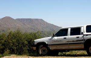 Bush Telegraph Namibia at the Gamsberg Pass
