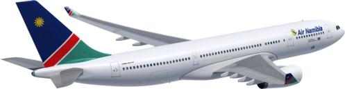 Der neue Airbus 330-200 für Air Namibia